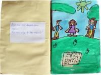 2. třída, 3 žáci, 7-8 let, polština, čeština, těšínské nářečí