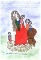 Kateřina Ferencová, 13 let, romština