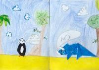 Alma Němečková, 8 let, angličtina
